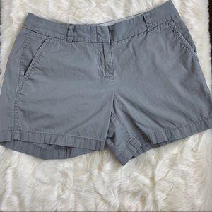 J.Crew chino shorts, size 4